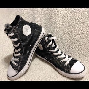 CONVERSE Chuck Taylor All Star Hi Shine Sneakers.